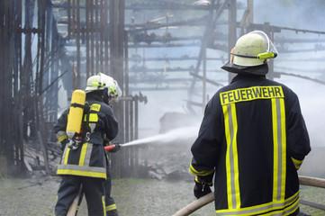 Großbrand in Südhessen Odenwaldkreis