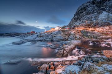 Arctic winter in Norway