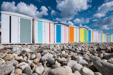 vacances repos mer cabane plage galet soleil tranquile tranquilité se reposer beau temps été