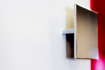 Door handle with lock. Door handle for door or Cabinet.