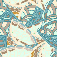 abstract drawing background of geometric patterns