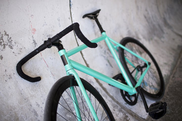 Details of fixed bike