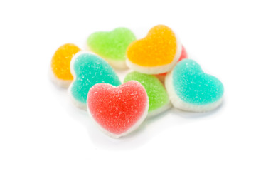 Heart sign jelly