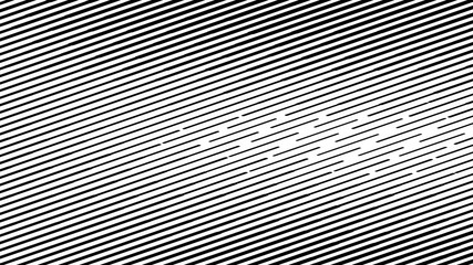 Abstract halftone. Black Bands on white background. Halftone background.