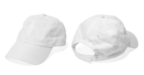 White Baseball Cap (Mockup)