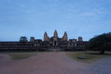 Early morning at Angkor Wat