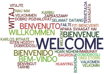Word Cloud Welcome