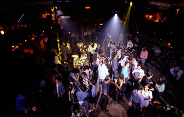 For Jakarta Moslems, the night does rock on, especially at the Tanamur discotheque. Almost every nig..