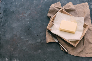 Fresh farm butter