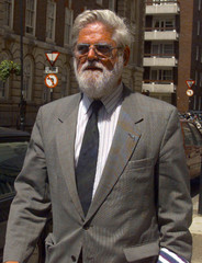Doctor John Roylance arrives at the General Medical Council diciplinary inquiry May 29. Roylance is ..