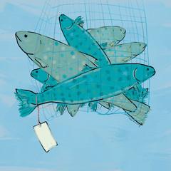 Fischen für fischfutter