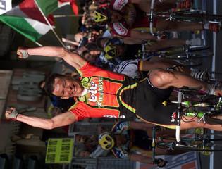 BELGIUM'S TCHMIL WINS MILAN SAN REMO CYCLING.