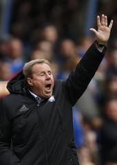 Birmingham City manager Harry Redknapp gestures