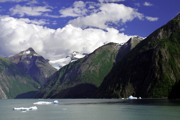 Tracy Arm fjords, Alaska