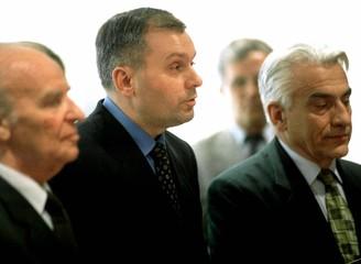 CROAT LEADER JELAVIC TAKES OVER BOSNIA PRESIDENCY.
