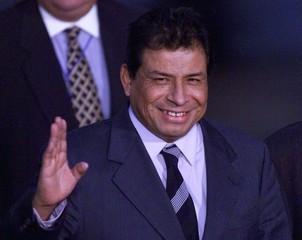 PERUVIAN VICE PRESIDENT ARRIVES FOR GROUP OF RIO SUMMIT.