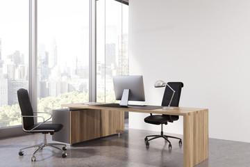 CEO office corner