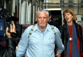 IRA EINHORN LEAVES COURT AFTER U.S EXTRADITION RULING.