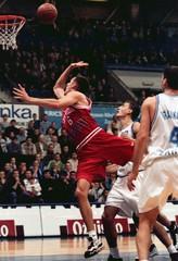 CRVENA ZVEZDA VS CIBONA ZAGREB BASKETBALL ACTION.