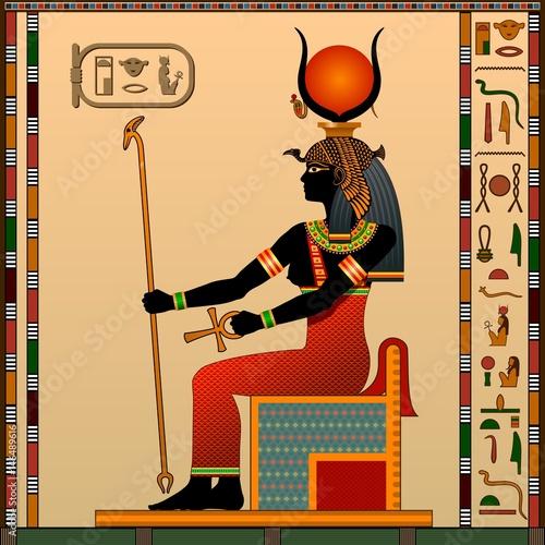 Religion Of Ancient Egypt Hathor Is The Goddess Of Love Heaven - Egypt religion