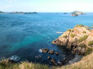bay of Islands, New Zealand - Stock Image