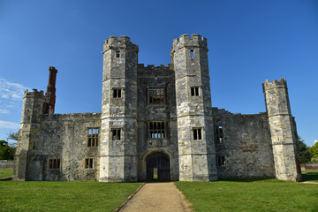 Ruin of Titchfield Abbey Hampshire England UK