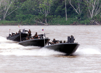 COLOMBIAN HIGH-SPEED NAVY GUNBOATS.