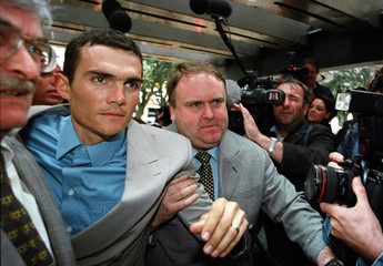 FRENCH CYCLING RACER RICHARD VIRENQUE ARRIVES AT COURT IN LILLE.
