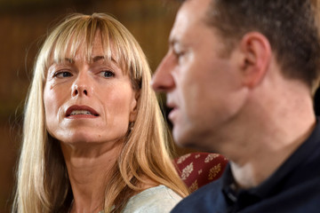 Kate and Gerry McCann, whose daughter Madeleine disappeared from a holiday flat in Portugal ten years ago, speak during an interview with the BBC's Fiona Bruce at Prestwold Hall in Loughborough