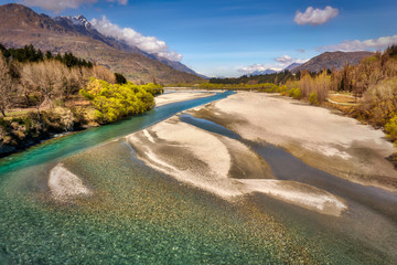The Braided Shotover River
