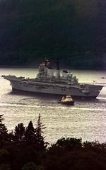FILE PHOTO OF HMS INVINCIBLE