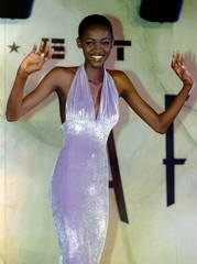 Nigerian Patricia Onweagba, 17, is overwhelmed with emotion after winning the Face of Africa modelin..