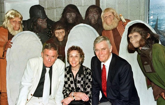 """Roddy McDowall, one of the  cast members from the science fiction film, """"Planet of The Apes"""" died fr.."""