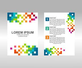pixel flyer Brochure