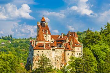 Wall Mural - Medieval Bran castle, Brasov landmark, Transylvania, Romania.
