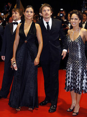 Director and cast of 'Fast Food Nation' arrive at screening of 'Fast Food Nation' for Cannes Film Festival