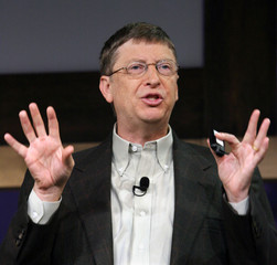 MICROSOFT CEO GATES GIVES KEYNOTE AT SECURITY CONFERENCE.