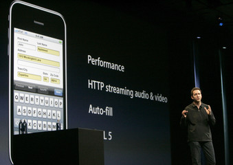 Apple's Scott Forstall speaks at Apple Inc's Worldwide Developers Conference in San Francisco