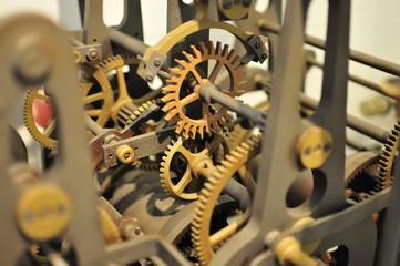 mechanical clock work