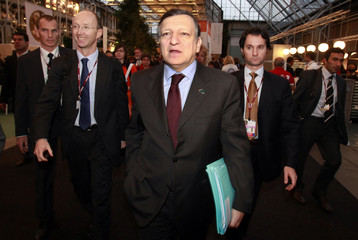 European Commission President Barroso attends the UN Climate Change Conference 2009 in Copenhagen