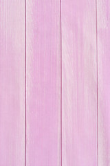 Wooden planks background, pink floor background or wood texture with copy space. Pink table background.