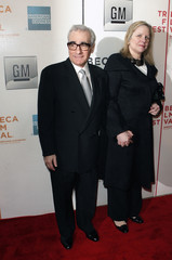 Director Martin Scorsese arrives with his wife Helen Morris to attend the Short Film Program and opening of the Tribeca Film Festival in New York