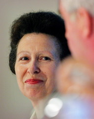 The Princess Royal, Princess Anne who is in Singapore to support London's 2012 Olympic bid, attends ..