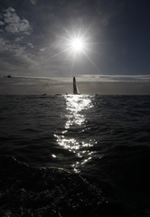 Yacht Ericcson 4 wins first stage of 2008-9 Volvo Ocean Race off Cape Town