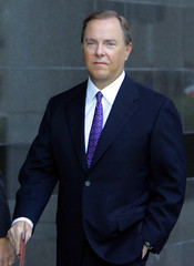 Former Enron CEO Skilling arrives at federal courthouse in Houston