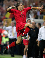 Belgium's Sonckcelebrates after scoring against Lithuania during their World Cup qualifier in Charleroi.