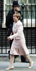 Britain's Culture Secretary Jowell leaves Downing Street in London after a cabinet meeting