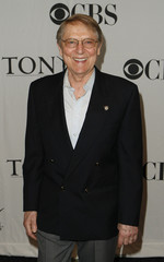Cullum arrives to attend the Tony Award nominations announcement in New York