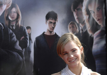 """Cast member Emma Watson attends the premiere of """"Harry Potter and the Order of the Phoenix"""" in Hollywood"""