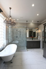 Luxury Master Bathroom - Portrait